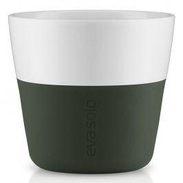 Eva Solo Termohrnky na kávu Lungo 230 ml 2 kusy lesní zelená