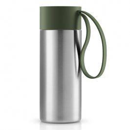 Eva Solo Nerezový termohrnek To Go XL 0,5 l s uzávěrem v lesní zelené