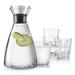 Eva Solo Set Karafa s drip-free okrajem + 4 sklenice