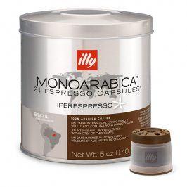 illy Kávové kapsle iperEspresso MonoArabica Brazil 21 ks