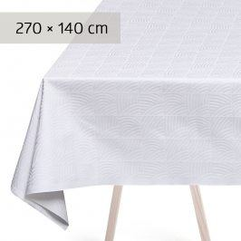 GEORG JENSEN DAMASK Ubrus white 270 × 140 cm NANNA DITZEL