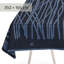 GEORG JENSEN DAMASK Ubrus black blue 350 × 165 cm MIKADO