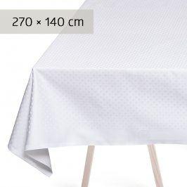 GEORG JENSEN DAMASK Ubrus white 270 × 140 cm SNOWFLAKES