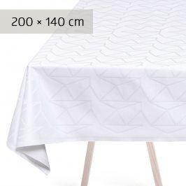 GEORG JENSEN DAMASK Ubrus white 200 × 140 cm ARNE JACOBSEN