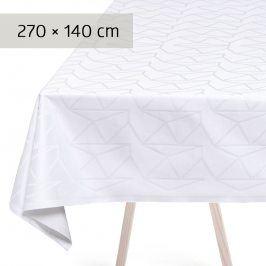 GEORG JENSEN DAMASK Ubrus white 270 × 140 cm ARNE JACOBSEN