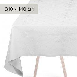 GEORG JENSEN DAMASK Ubrus white 310 × 140 cm FINNSDOTTIR