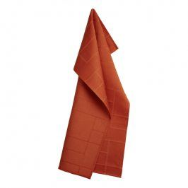 GEORG JENSEN DAMASK Utěrka burnt orange 80 × 50 cm BRICKS