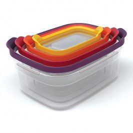 Joseph Joseph Kompaktní sada úložných nádob Multi-colour Nest™ Storage 4