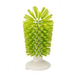 Joseph Joseph Kartáč na nádobí s přísavkou zelený Brush-up™
