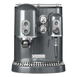 KitchenAid Pákový kávovar na espresso Artisan šedá metalíza