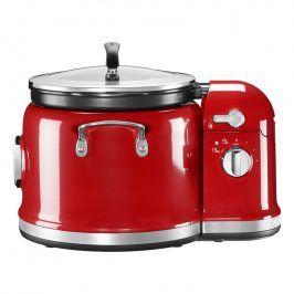 KitchenAid Multifunkční hrnec a míchací stojan královská červená