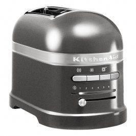 KitchenAid Toustovač na 2 plátky Artisan stříbřitě šedá