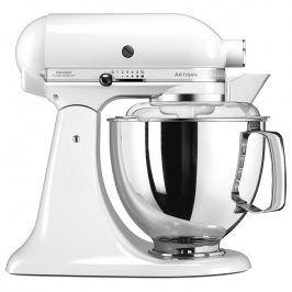 KitchenAid Kuchyňský robot Artisan Elegance s 2 mísami bílá