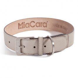 MiaCara Obojek Torino béžový S/M