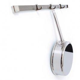 MAUVIEL Nerezová lišta na zavěšení nádobí se třemi háčky 60 cm