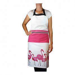 MÜkitchen Kuchyňská zástěra flamingo MÜincotton®