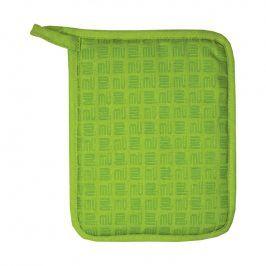 MÜkitchen Kuchyňská chňapka se silikonem MÜincotton® zelená