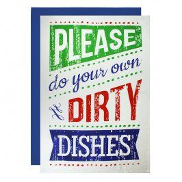 MÜkitchen Maxi kuchyňská utěrka please do your own dirty dishes 2 ks
