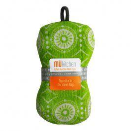 MÜkitchen Kuchyňská houbička zelená Marrakesh Multi MÜmicro®
