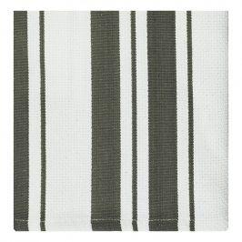 MÜkitchen Kuchyňské utěrky/ručníky malé šedé pruhy MÜincotton® 2 ks