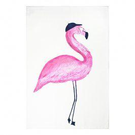 MÜkitchen Kuchyňská utěrka/ručník MÜincotton® Flamingo