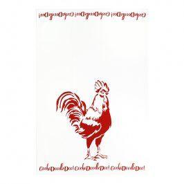 MÜkitchen Kuchyňská utěrka/ručník MÜincotton® red rooster