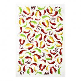 MÜkitchen Kuchyňská utěrka/ručník MÜincotton® chili peppers