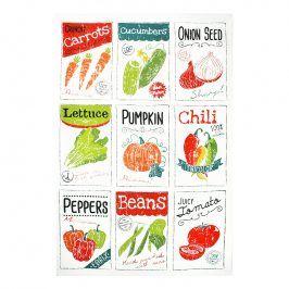 MÜkitchen Kuchyňská utěrka/ručník MÜincotton® seed packets