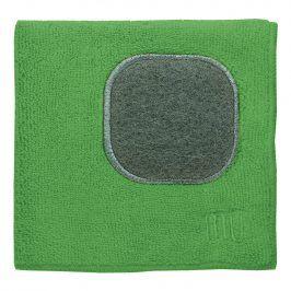 MÜkitchen Kuchyňský hadřík z mikrovlákna s drátěnkou trávově zelený MÜcloth