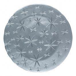 Nachtmann Servírovací/klubový talíř Stars stříbrný