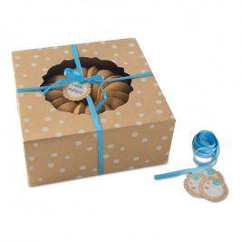 NordicWare Malé papírové krabice na bábovku Kraft Paper Bundt Box 4 kusy, Nordic Ware