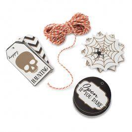 NordicWare Dárkové visačky s provázkem Seasonally Sweet Halloween 12 kusů, Nordic Ware