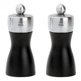 Peugeot Set mlýnků na pepř a sůl FIDJI černá matná/nerez 12 cm