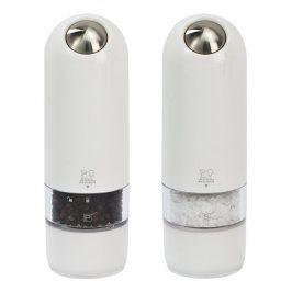 Peugeot Dárkový set elektrických mlýnků na pepř a sůl bílý ALASKA