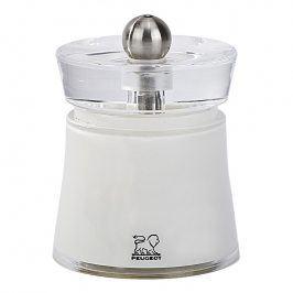 Peugeot Mlýnek na sůl bílý 8 cm BALI