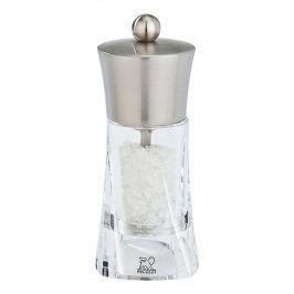 Peugeot Mlýnek na sůl nerez/akryl 14 cm OUESSANT