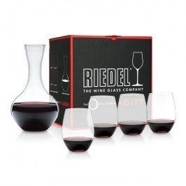 Riedel Výhodné balení sklenic Cabernet, Merlot O-Riedel a dekantér Syrah zdarma