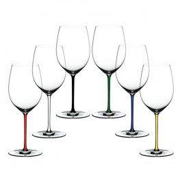 Riedel Výhodné dárkové balení sklenic 5+1 zdarma Cabernet/Merlot Fatto a Mano