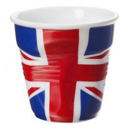 REVOL Kelímek na espresso 8 cl s britskou vlajkou Froissés