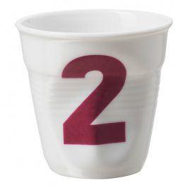 REVOL Kelímek na espresso 8 cl bílý