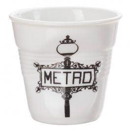 REVOL Kelímek na espresso 8 cl Métro Froissés