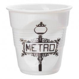 REVOL Kelímek na cappuccino 18 cl Métro Froissés
