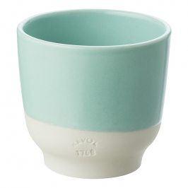 REVOL Pohárek na espresso 8 cl zelená Celadon Color Lab