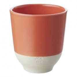 REVOL Pohár na čaj 20 cl oranžová Capucine Color Lab