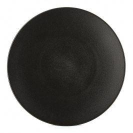 REVOL Talíř na hlavní chod/servírovací Ø 31,5 cm matná černá Equinoxe