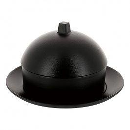 REVOL Dim sum set - parník/napařovač s talířem a poklopem matná černá Equinoxe