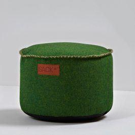 SACKit Kulatý taburet RETROit Cobana zelený