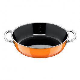 Silit Pánev Ø 28 cm na dušení/servírování Passion Orange