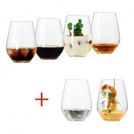 Spiegelau Set 6 univerzálních sklenic L Authentis Casual