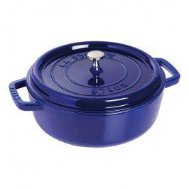 Staub Kulatý kastrol, tmavě modrá Ø 26 cm